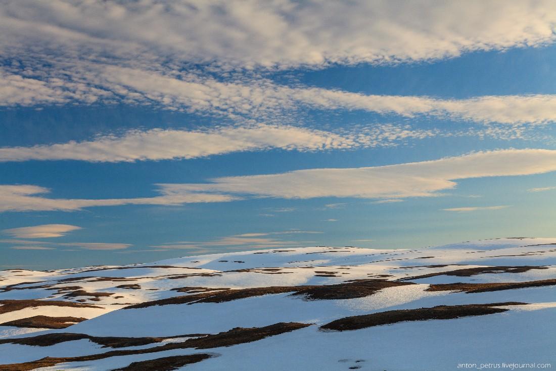 8. Снежные холмы окружали дорогу со всех сторон. А из-под этих сугробов текли сотни ручейков. Вообще