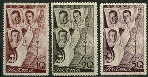 1938 г. Второй беспосадочный перелет СССР-США через Северный полюс