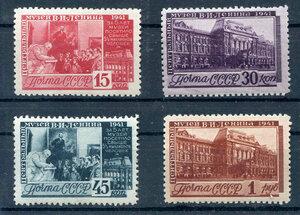 1941 г.5 -летие создания Центрального музея В.И.Ленина.