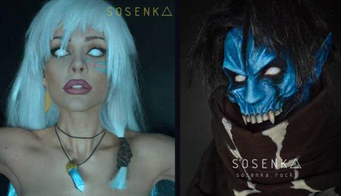 Косплей от Sosenk'и