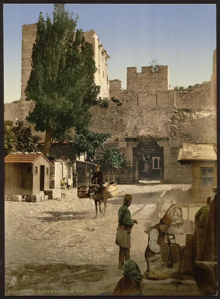 Стамбул времен Османской империи на фотографиях