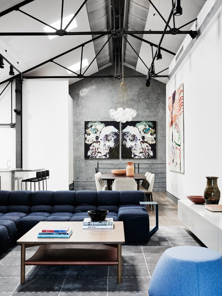 WE ARE HUNTLY Transforms A Warehouse Into A Beautiful Home