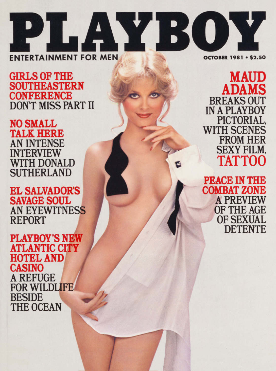 CATHY ST. GEORGE - Playmate 1982