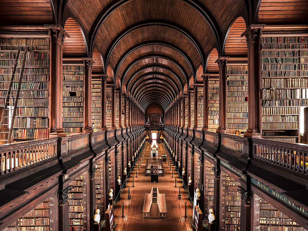 A Look Inside Europe's Most Enchanting Libraries by Photographer Thibaud Poirier