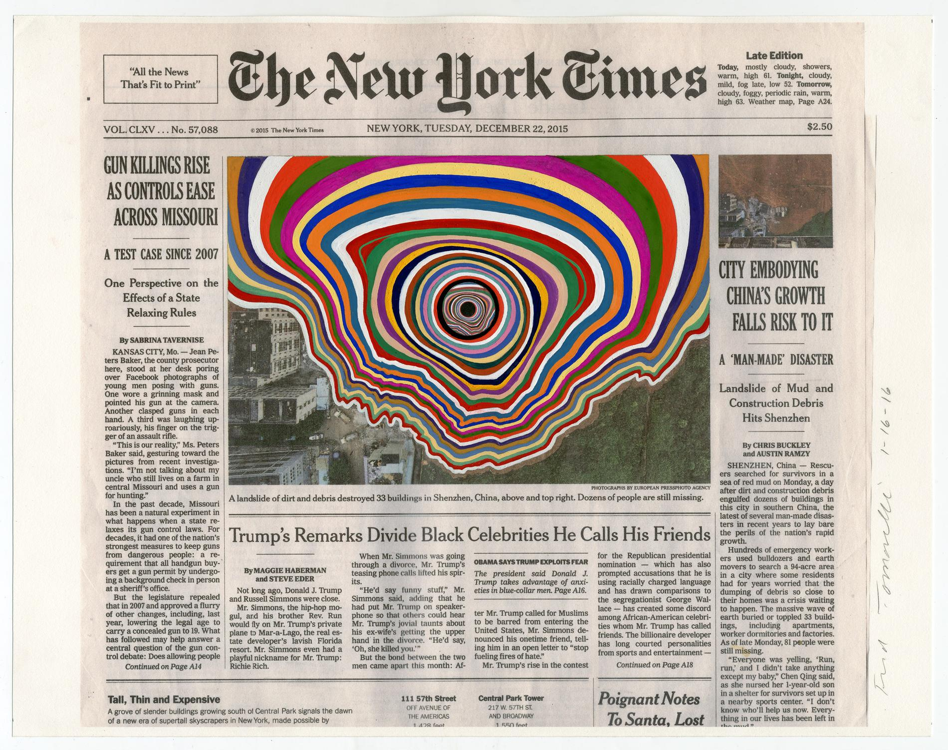 Creative Collages of the NY Times Front Pages (7 pics)