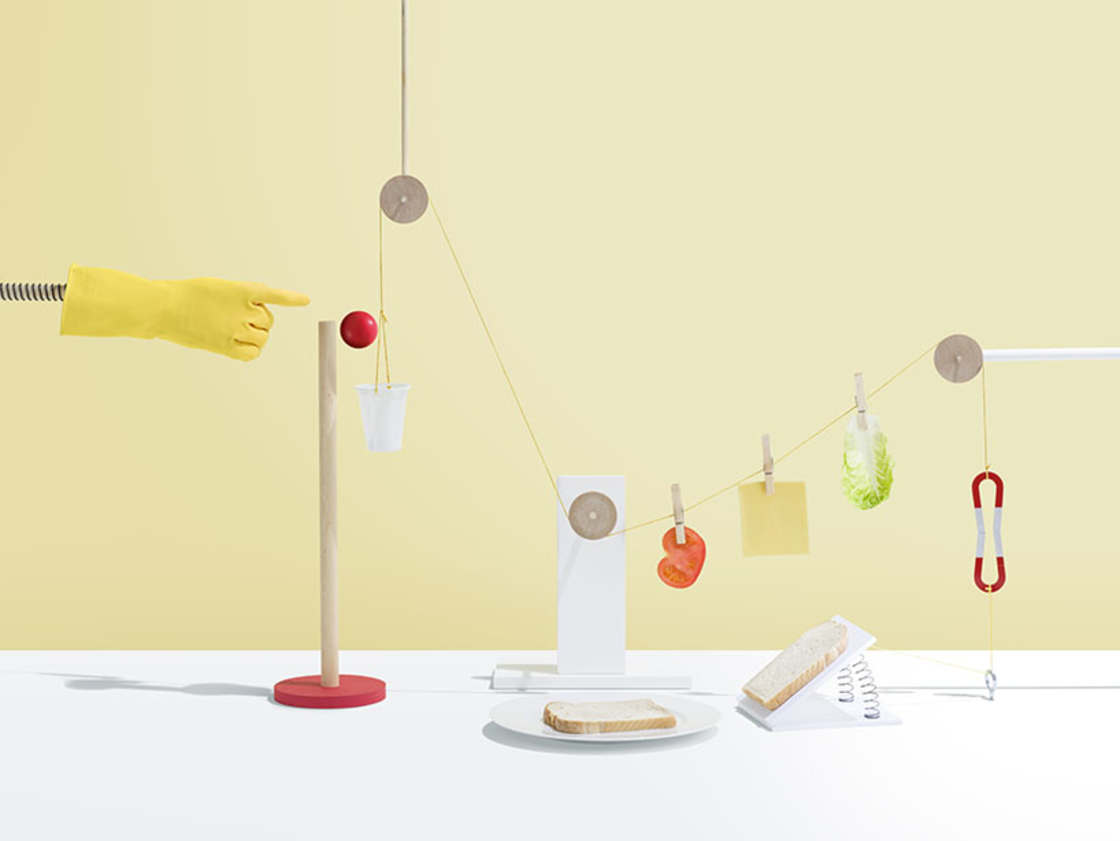Photographing Rube Goldberg Machines as still lifes