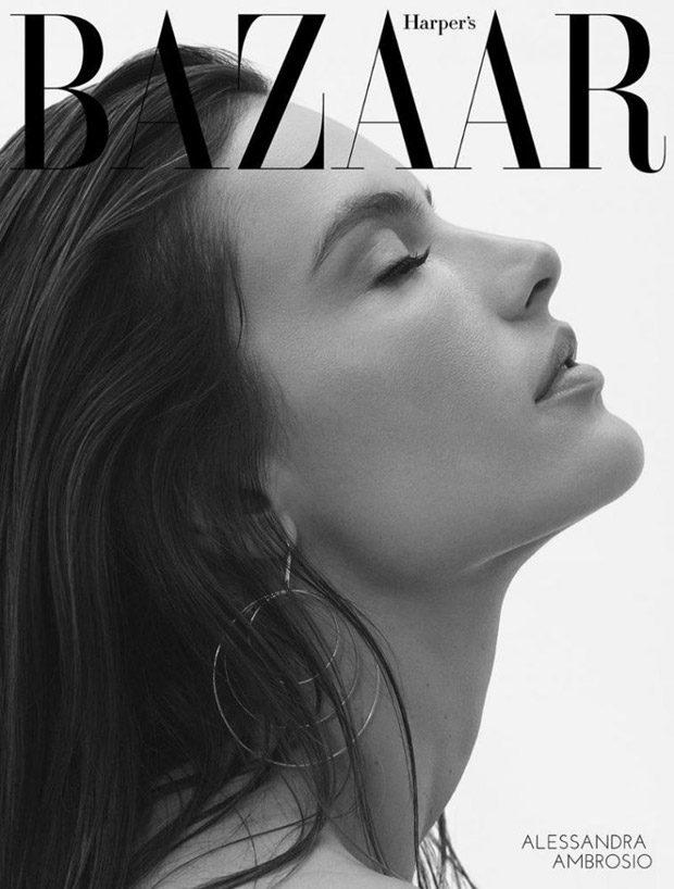 Alessandra Ambrosio Stars in Harper's Bazaar Greece August 2017 Issue