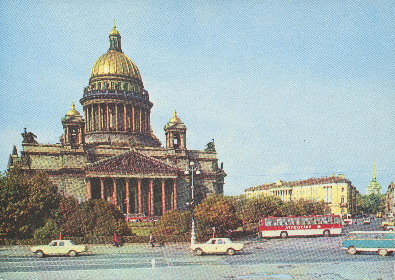 Фото на открытках петербург