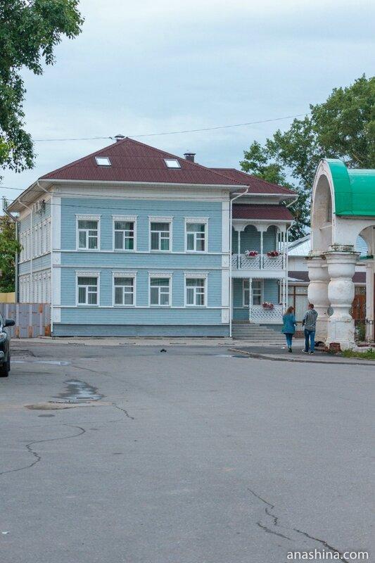 Реконструированный старинный дом, Вологда
