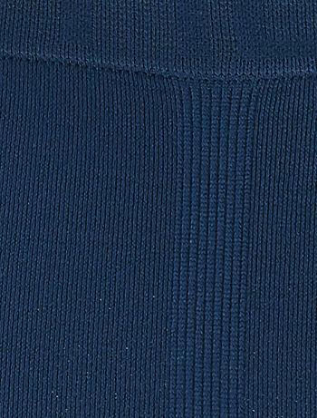 TX120 Комплект из 3 пар бесшовных трусов-боксеров из микрофибры - голубой
