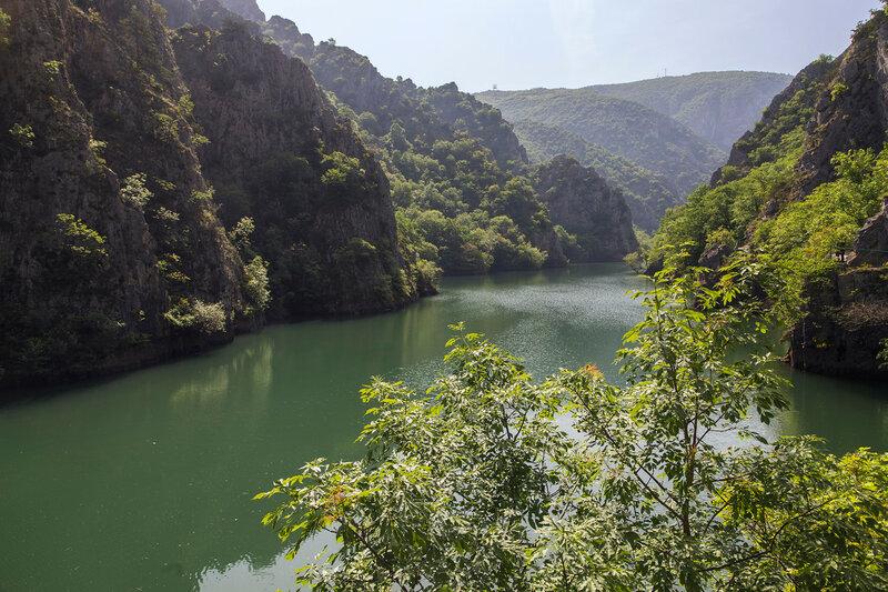 Озеро Матка около монастыря Святого Андрея