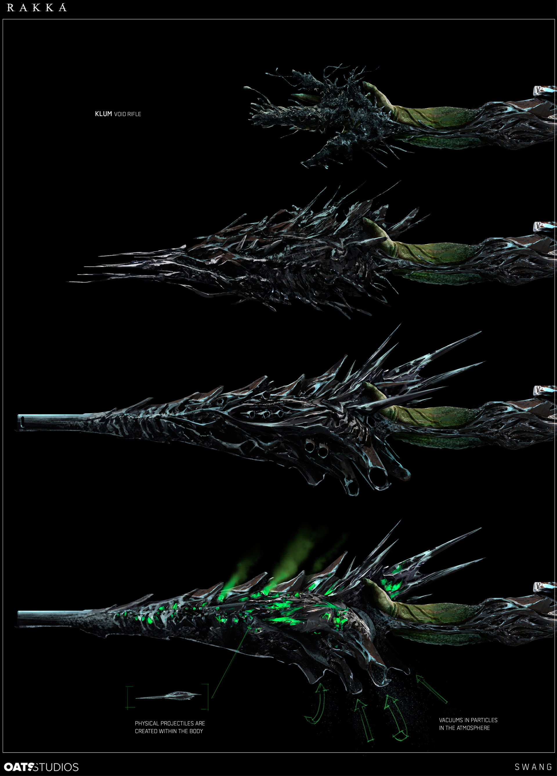 Rakka Concept Art by Steve Wang