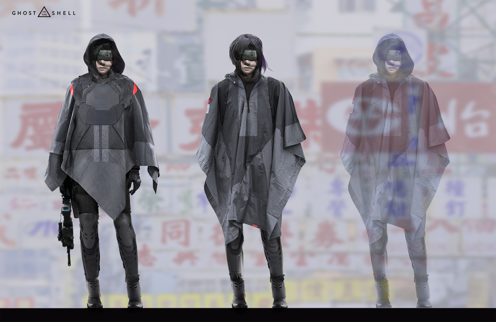 Ghost in the Shell Concept Art by Joseph Cross