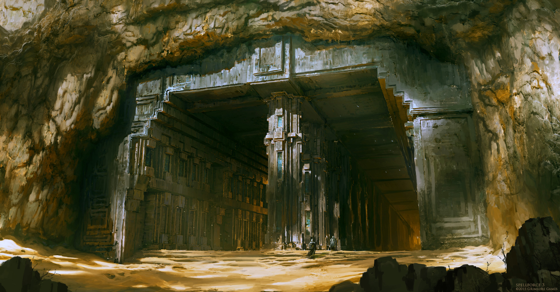 SpellForce 3 Concept Art by Raphael Lubke
