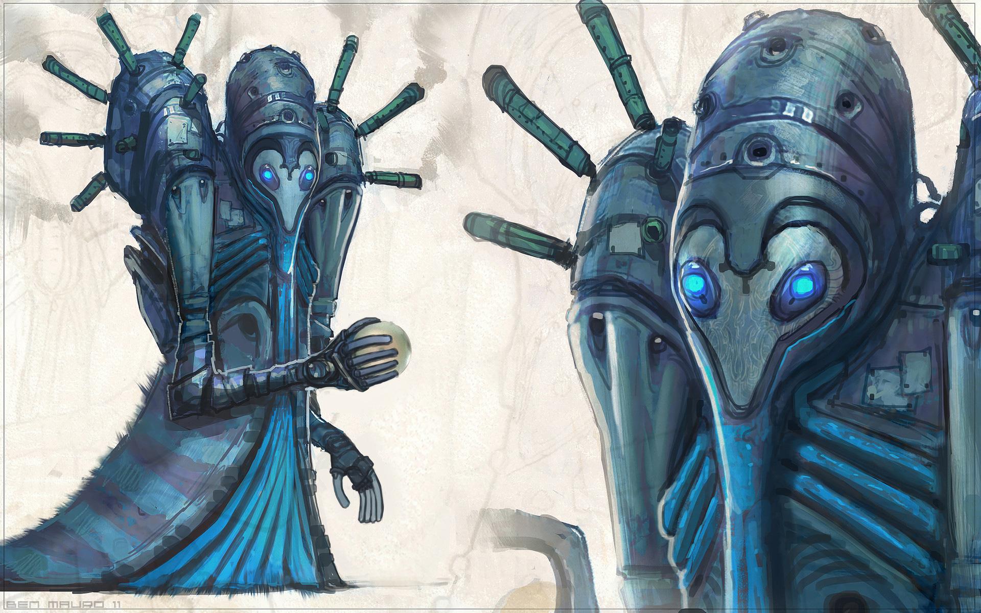 Valerian Concept Art by Ben Mauro