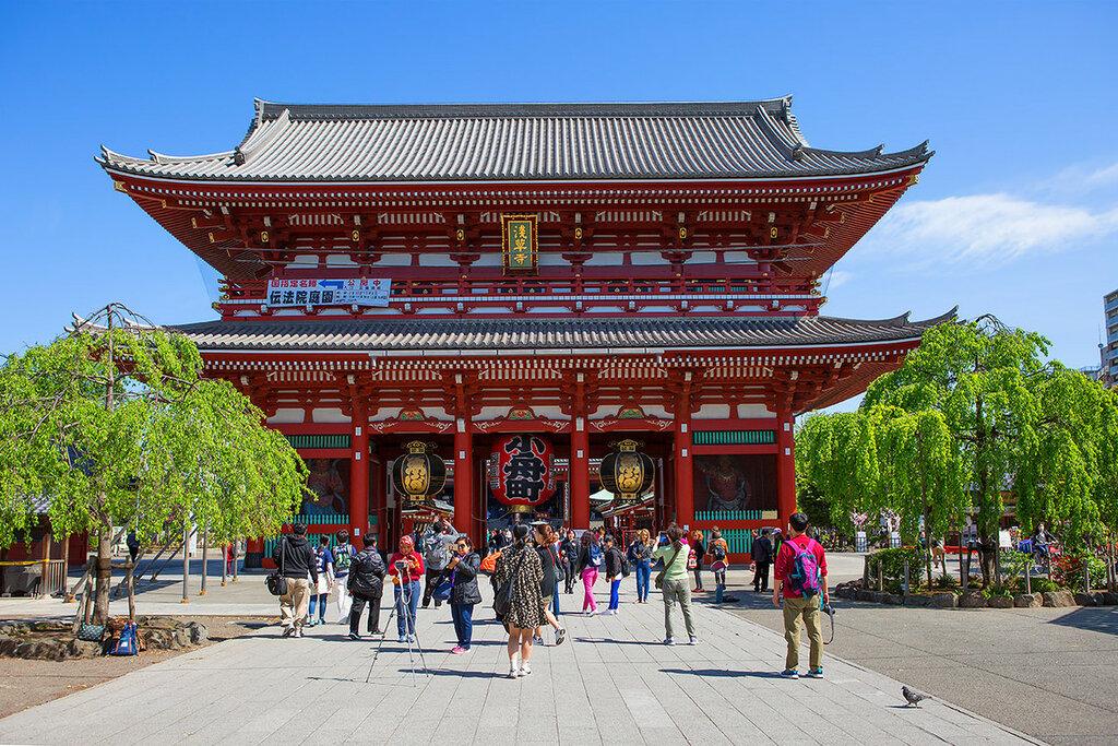 Токио. Храм Сенсо-Дзи