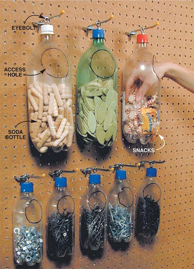 Идеи для хранения разных мелочей