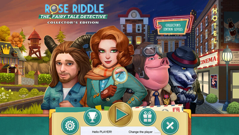 Rose Riddle: The Fairy Tale Detective. CE
