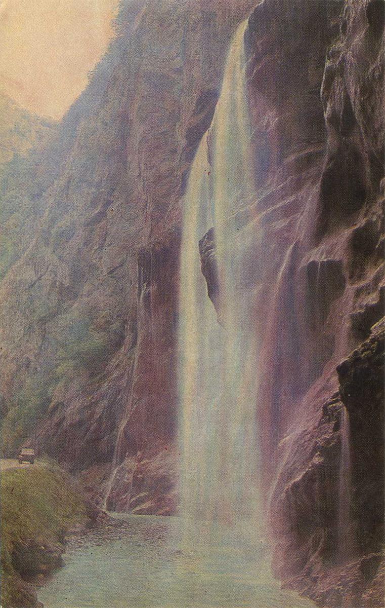 Кабардино-Балкария, Чегемский водопад