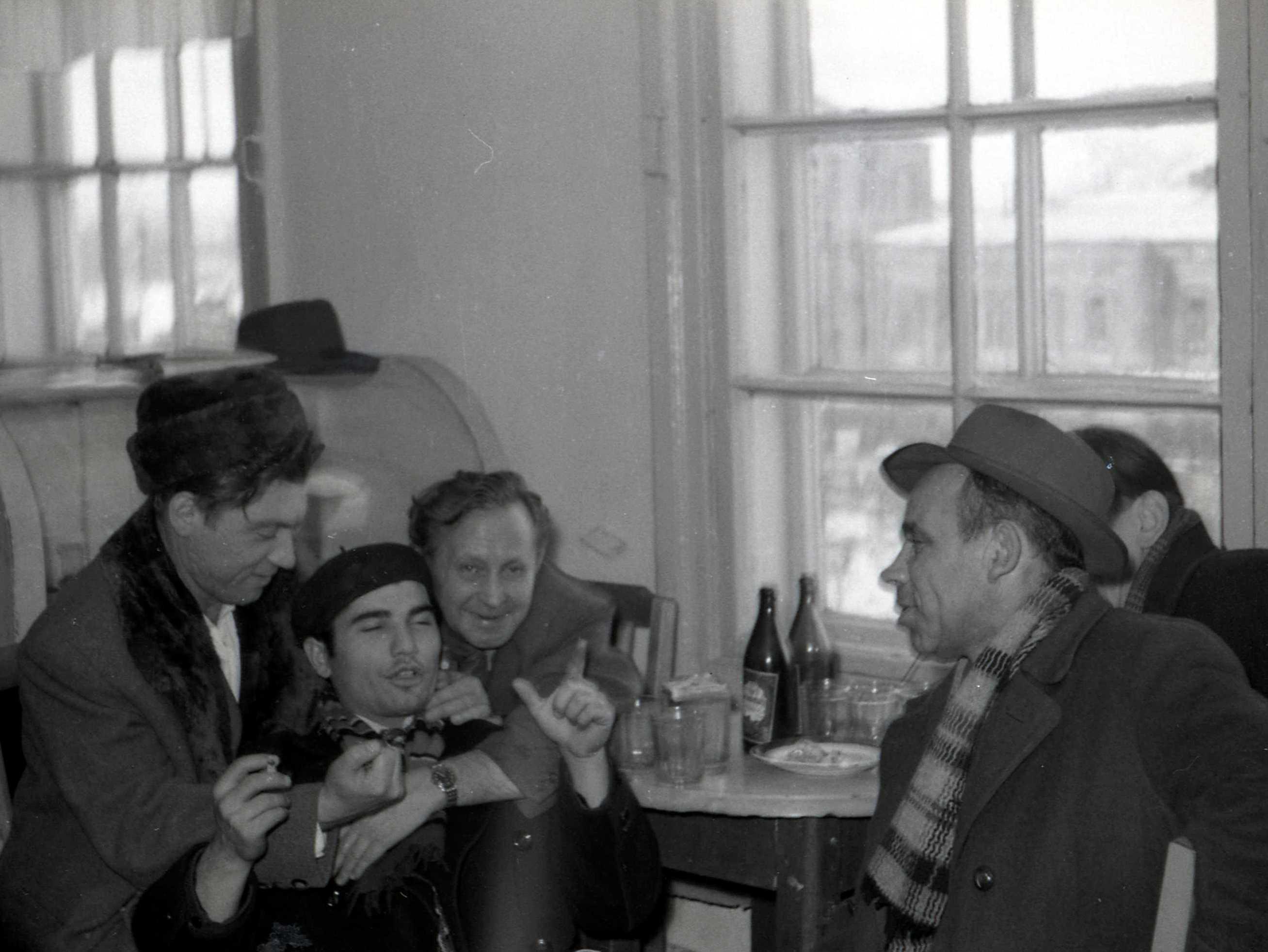 Дружеская компания, Челябинск. 1958