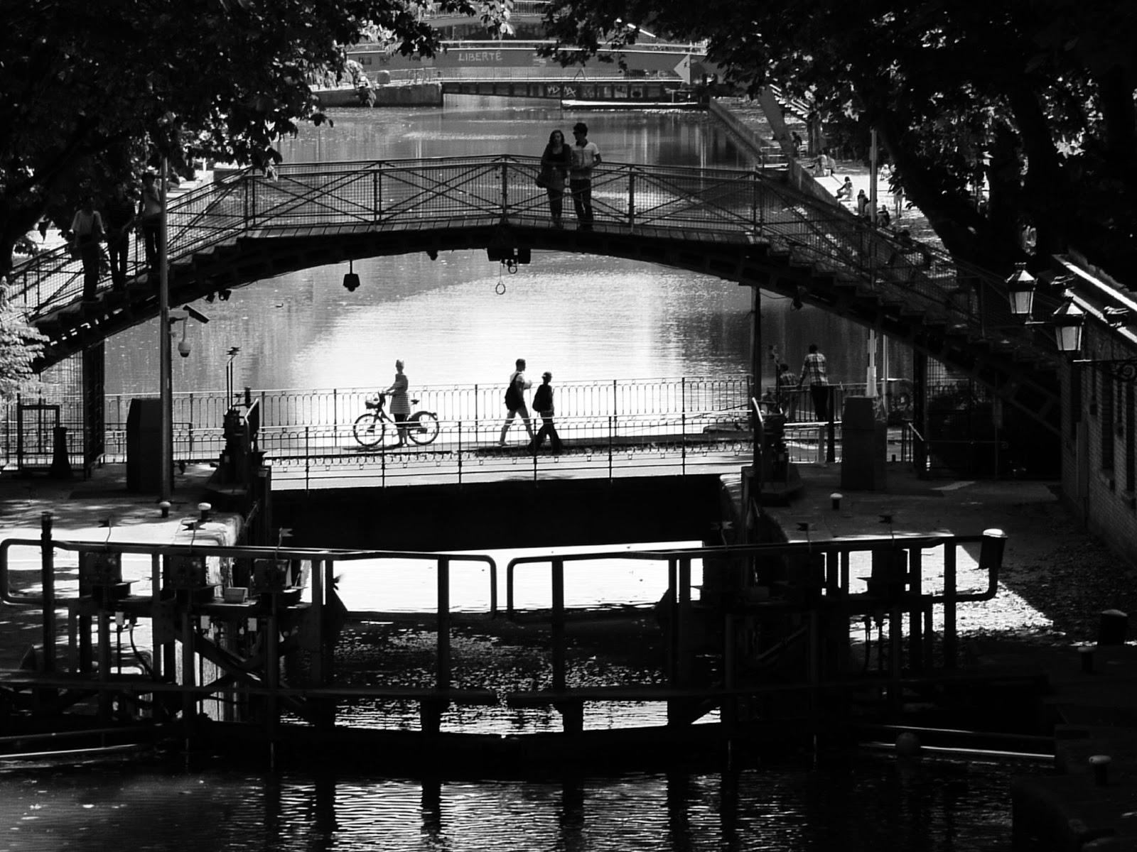 1950-е. Канал Сен-Мартен