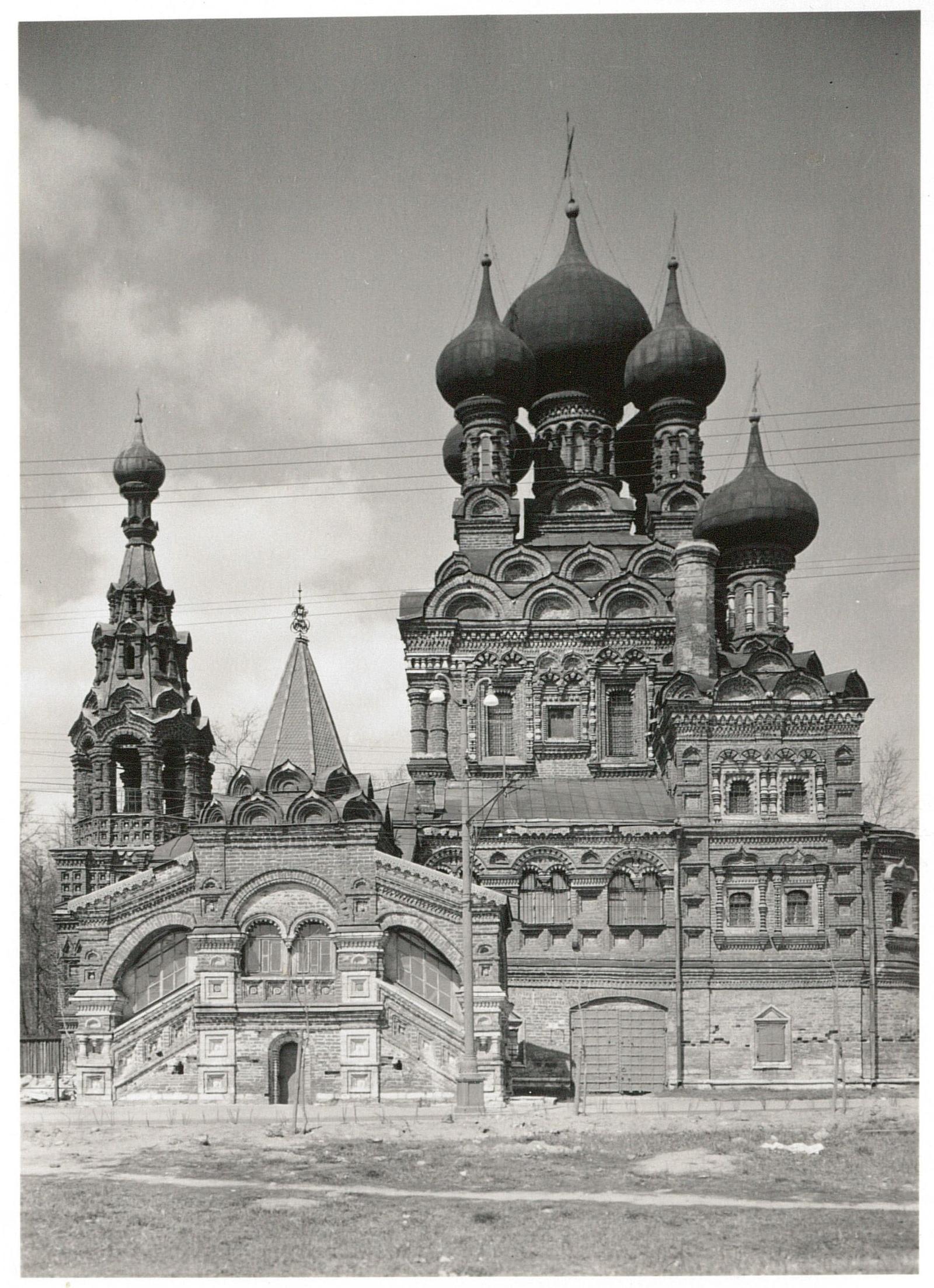 Останкино. Троицкая церковь