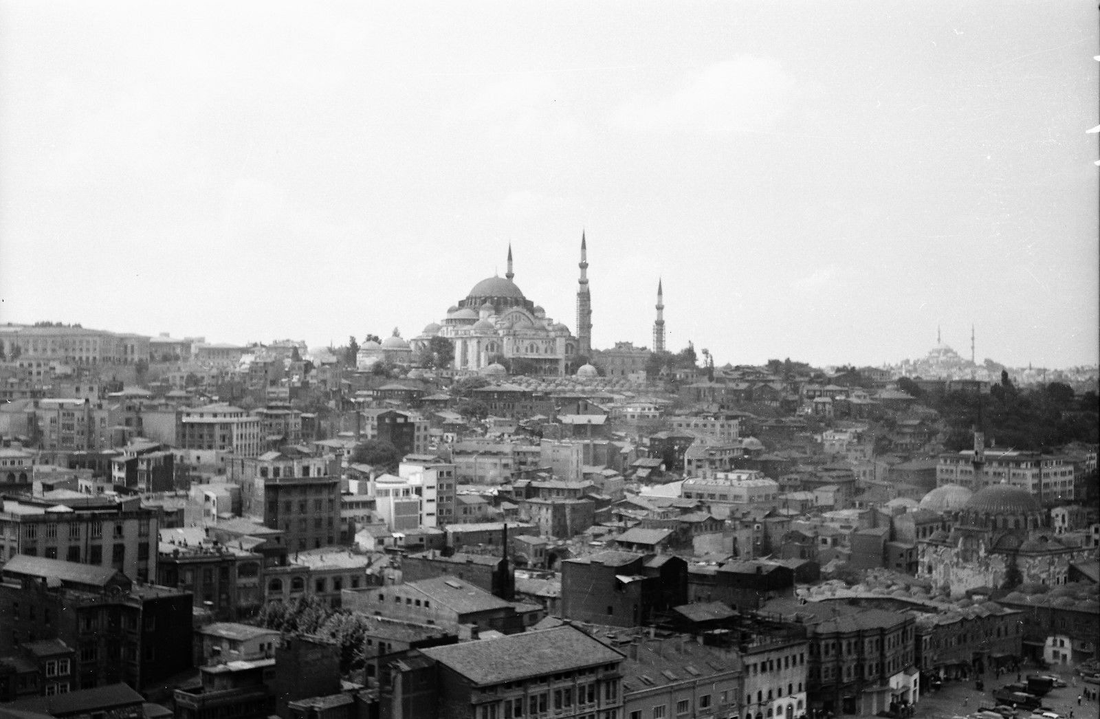 Панорама мечети Сулеймана