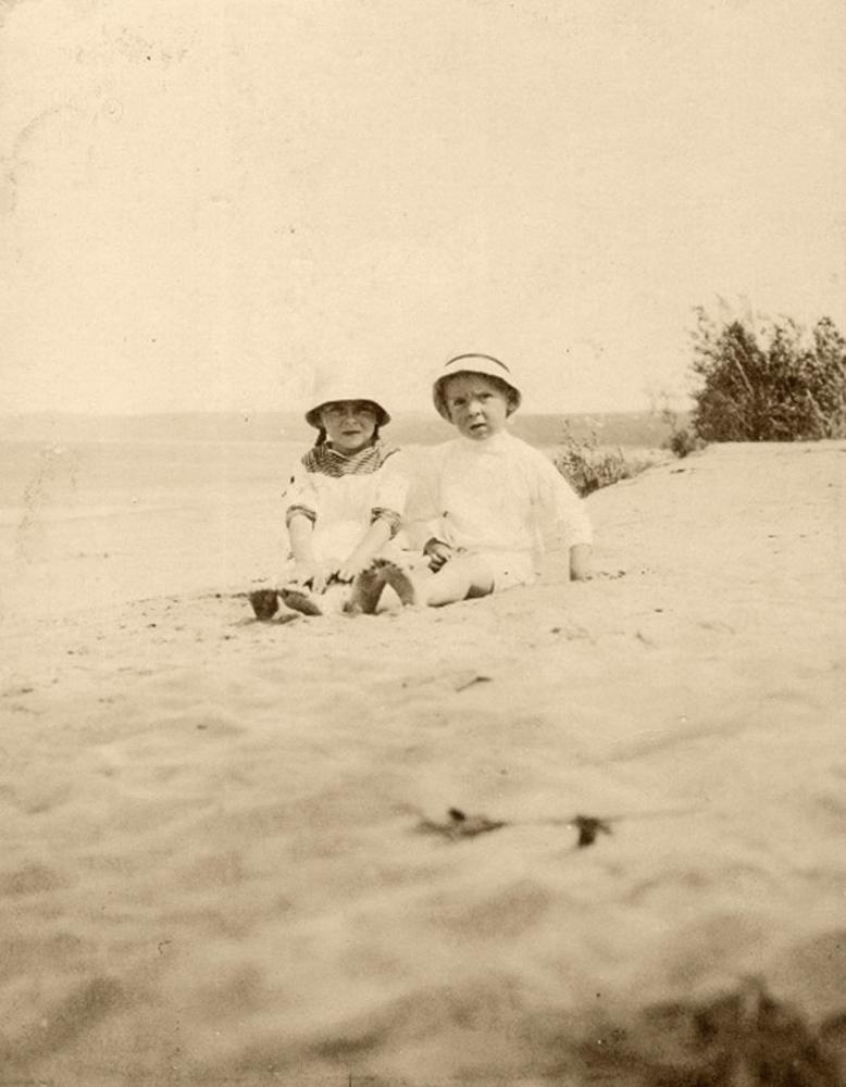 Дети Головкина Евгения и Всеволод, 1913-1914