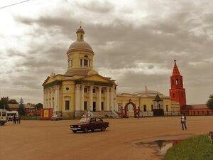 Уездный город Епифань (основан в 1572г). Красная площадь.
