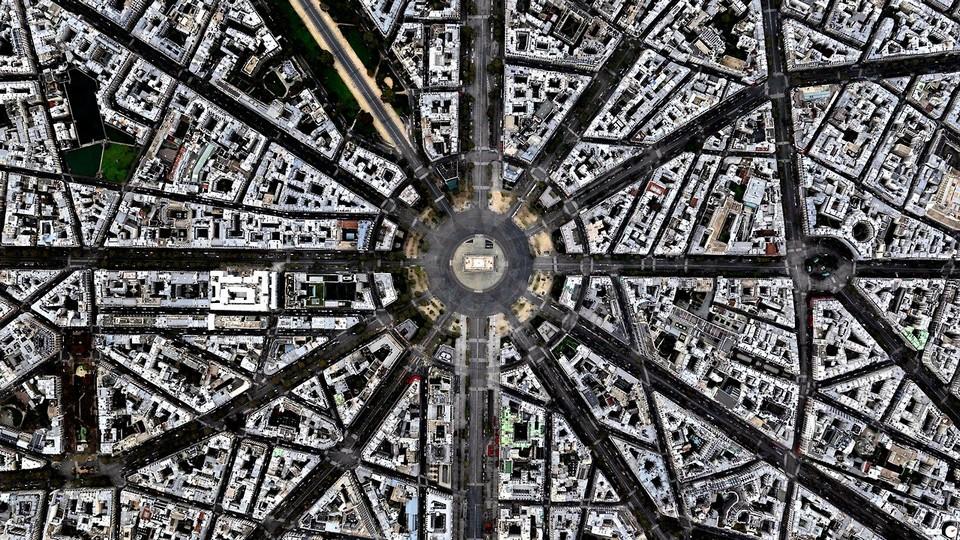 Земля с высоты птичьего полета на снимках Бена Гранта