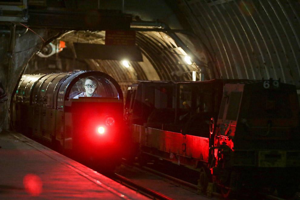 Подземная почтовая железная дорога