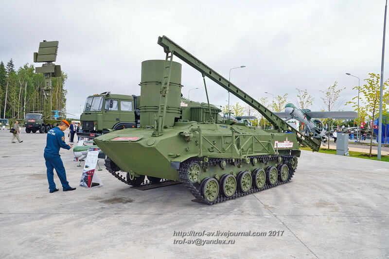 Комплекс Строй-П на форуме Армия-2017 в парке Патриот