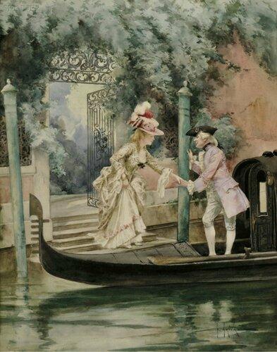 Художник Eugene Grivaz (French, 1852-1915)
