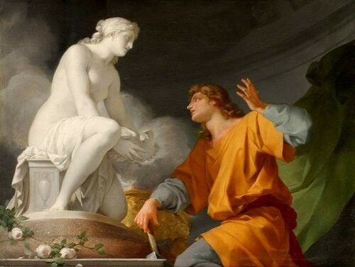 Jean-Baptiste Regnault, Пигмалион и Галатея