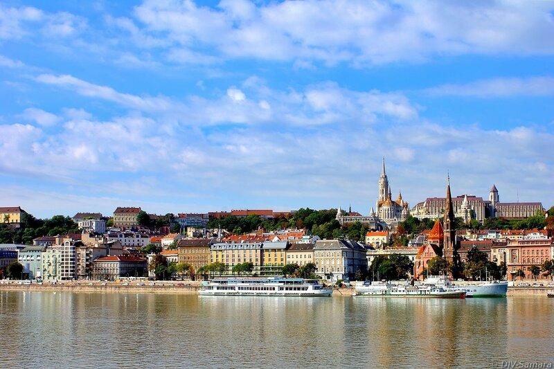 Панорама Буды в Будапеште