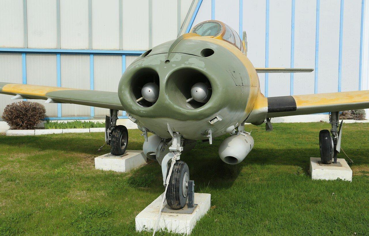 Hispano Aviación Ha-220 'Super Saeta' (Museo del Aire, Madrid)