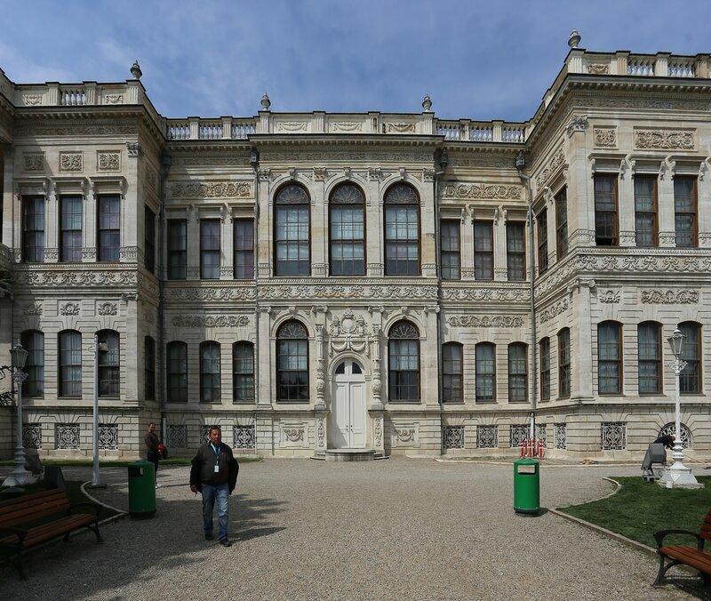 Istanbul, Dolmabahce Palace. Harem (Harem)