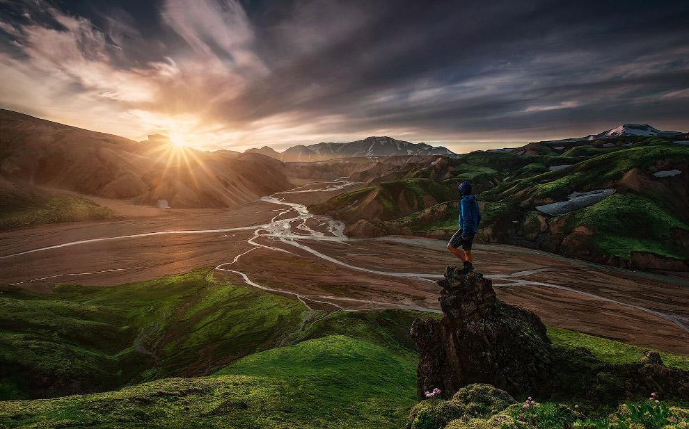 23. Скала «Язык Тролля», Норвегия. (Фото Alex Emanuel Koch).  Также смотрите « Загадочные пе
