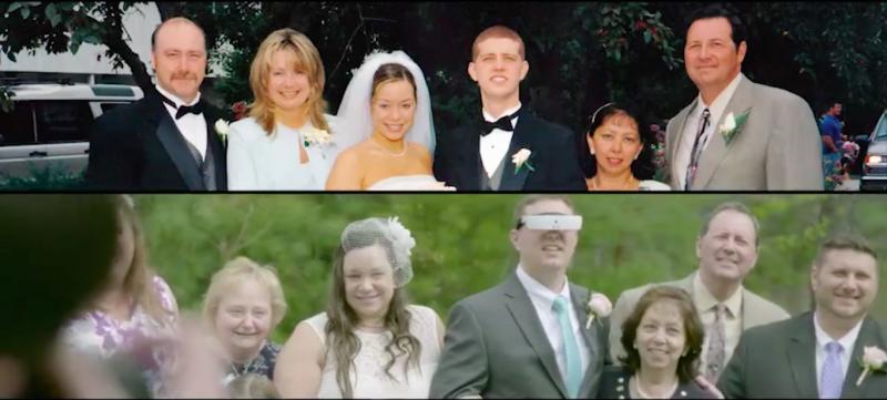 С помощью смарт-очков почти слепой парень впервые смог увидеть свою жену
