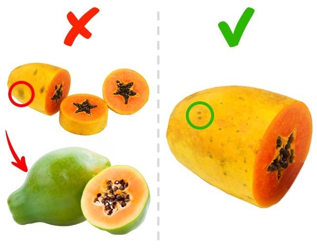 © depositphotos  © depositphotos  Первый признак зрелости папайи — желтый или оранжевый