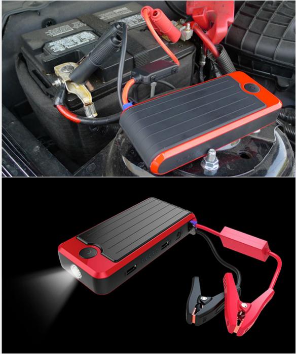 Портативный аккумулятор Это устройство может зарядить не только телефон, но и аккумулятор автомобиля