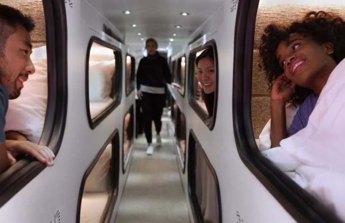 Спокойной ночи, пассажиры: автобус, в котором нужно спать по дороге (5 фото)