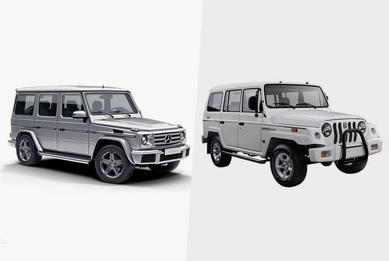 Знаменитый «кубик» Mercedes Gelandewagen также не избежал участи быть клонированным в Поднебесной. К