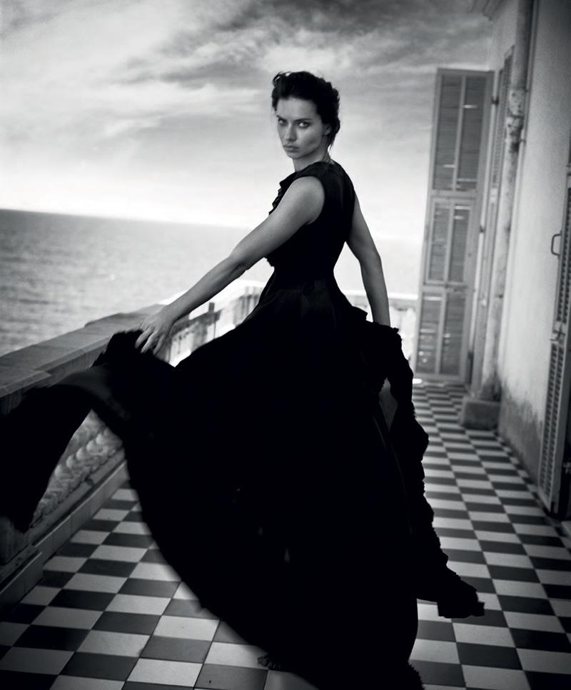 Адриана Лима в испанском Harper's Bazaar