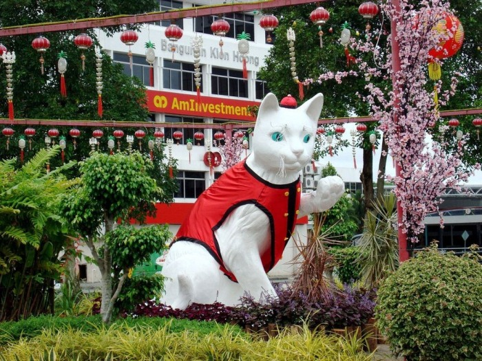 Колледж в Кучинге называется I-CATS — Международный колледж передовых технологий Саравак, а ме