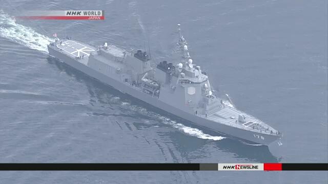 США иЯпония приступают ксовместным учениям рядом сКорейским полуостровом