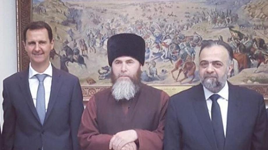 ВДамаске муфтий Чечни встретился сБашаром Асадом