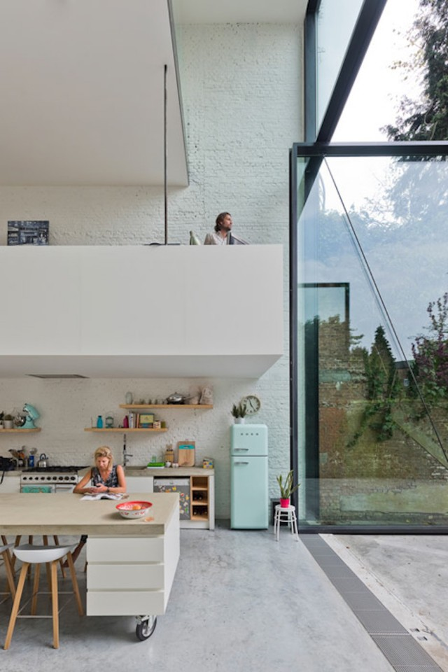 A House with the World's Largest Pivoting Doors