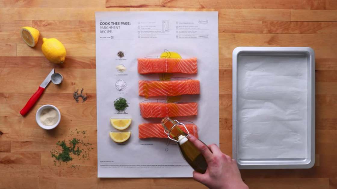 IKEA invents clever posters to cook!