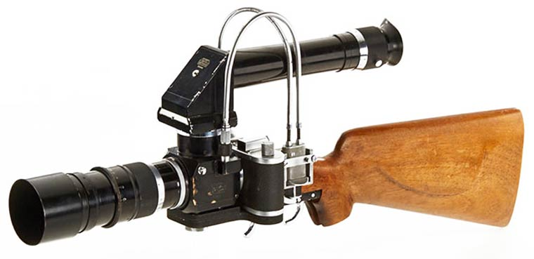 Leica Sniper - An amazing accessory that turns your camera into a gun rifle